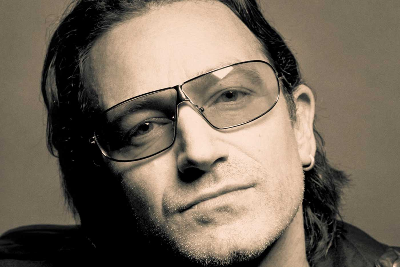 Bono celebra sus sesenta años compartiendo una playlist
