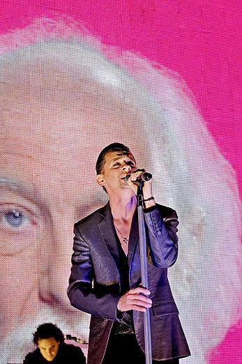 La megalomanía de Depeche Mode los guía al Olímpo musical