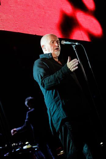 Peter Gabriel, día jurásico