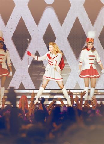 Madonna, Dios salve a la reina