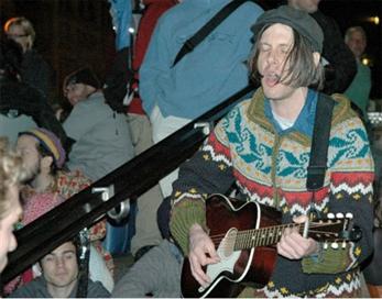 Los músicos norteamericanos dan la cara por Occupy Wall Street