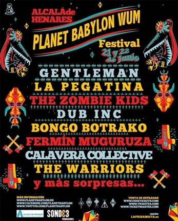 Cancelado el Planet Babylon WUM 2013