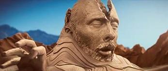 Thom Yorke emerge del desierto