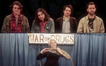 The War On Drugs jurado de un concurso de talentos