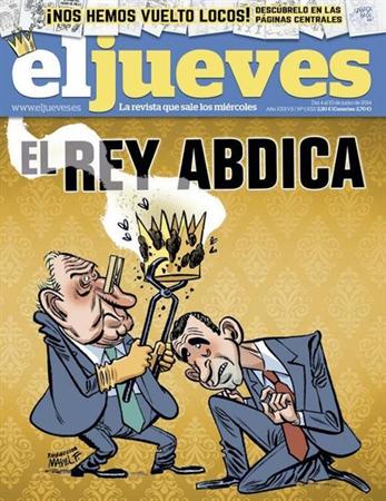 Dimisión en cadena de los dibujantes de El Jueves tras la censura en la portada