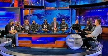 Wu-Tang Clan reunidos al completo en TV