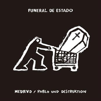 Escucha ya el split de Pablo Und Destruktion y Medievo