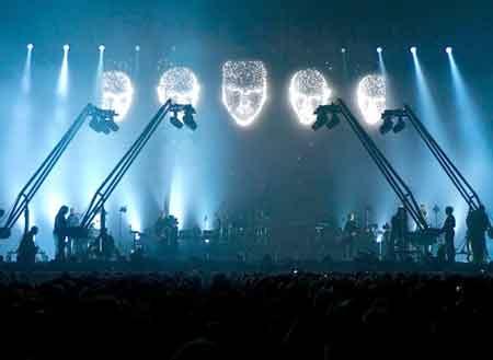 Peter Gabriel en pantalla grande