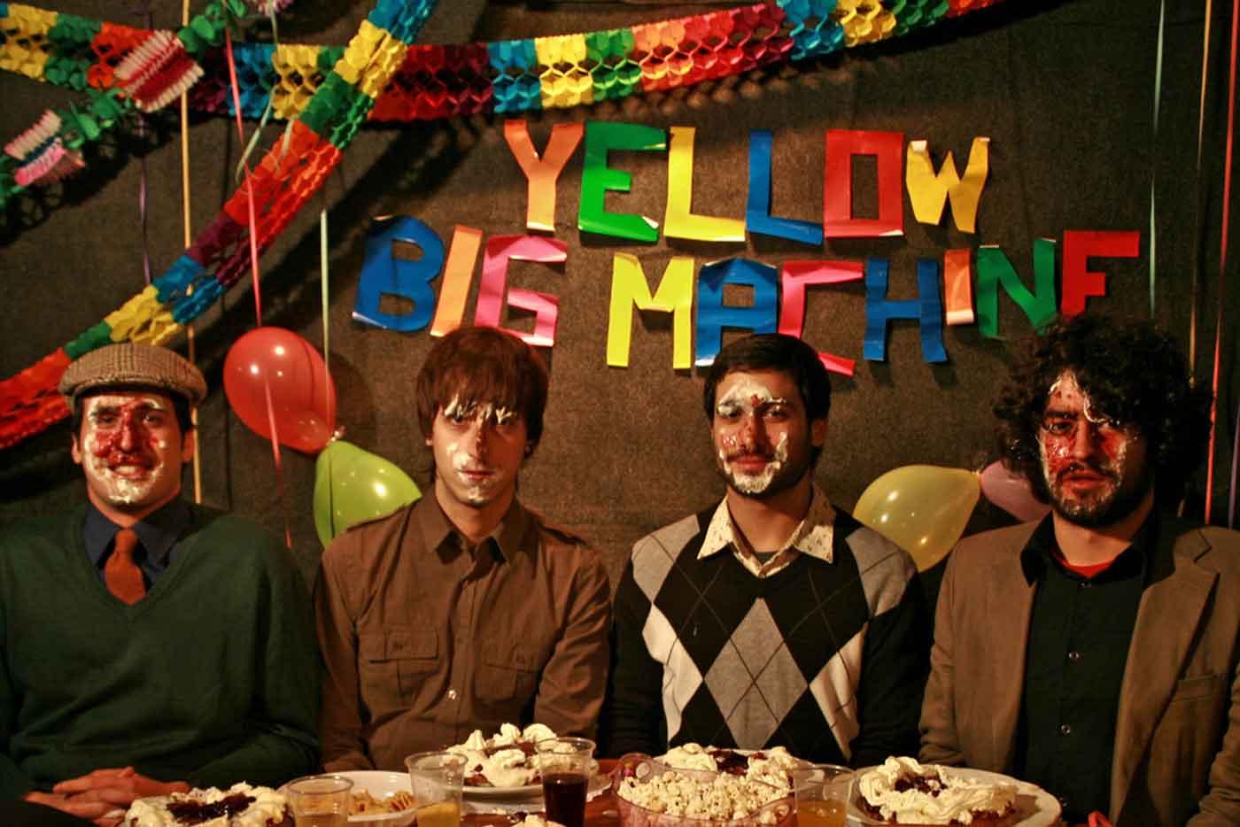 Yellow Big Machine