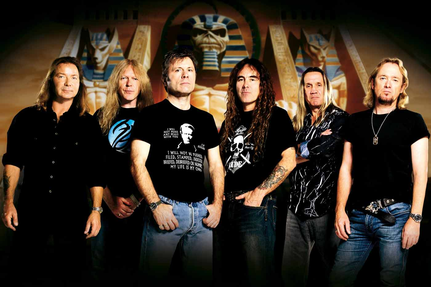 Iron Maiden vuelven a España con una fecha única en Madrid