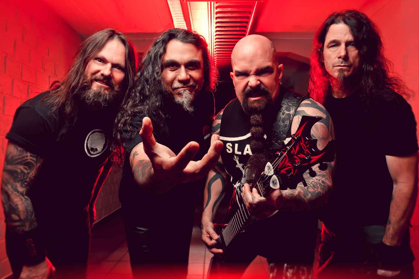 Slayer se despiden acompañados por Lamb of God, Anthrax y Obituary