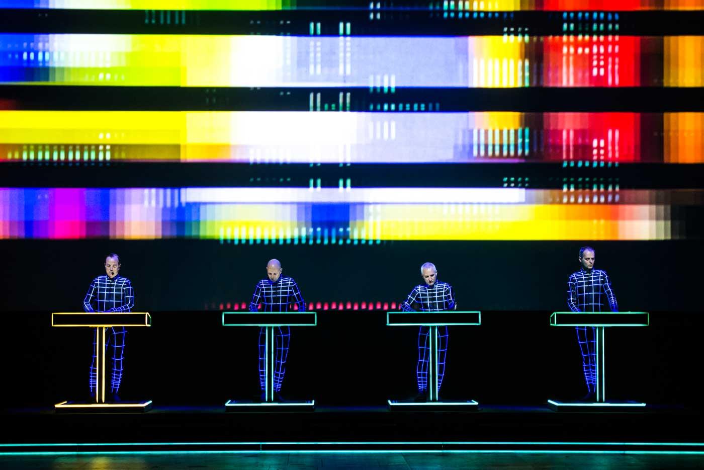 Kraftwerk 3D, primer gran nombre del BIME Live