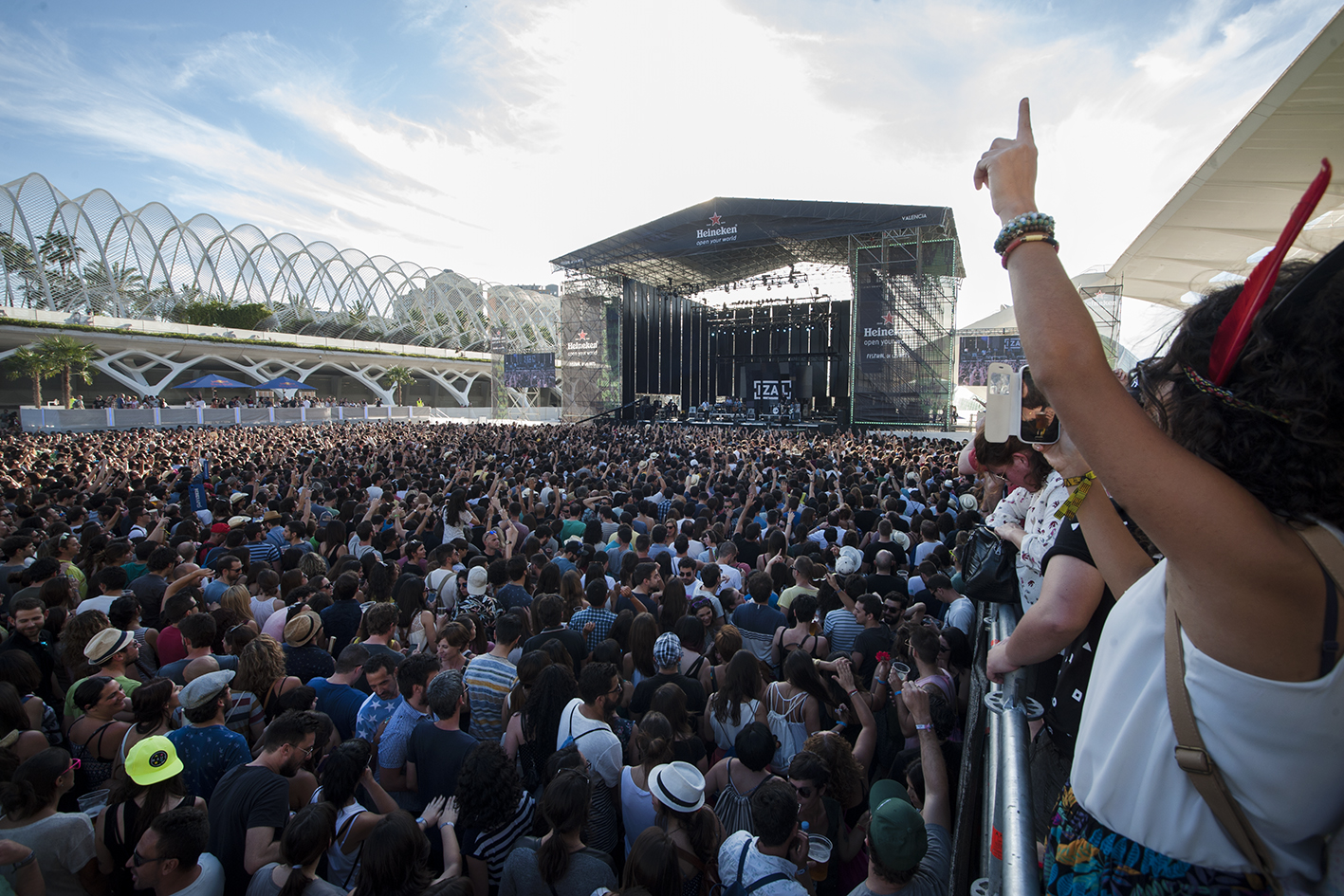 El Festival de les Arts se estrena en Valencia con 22.000 asistentes