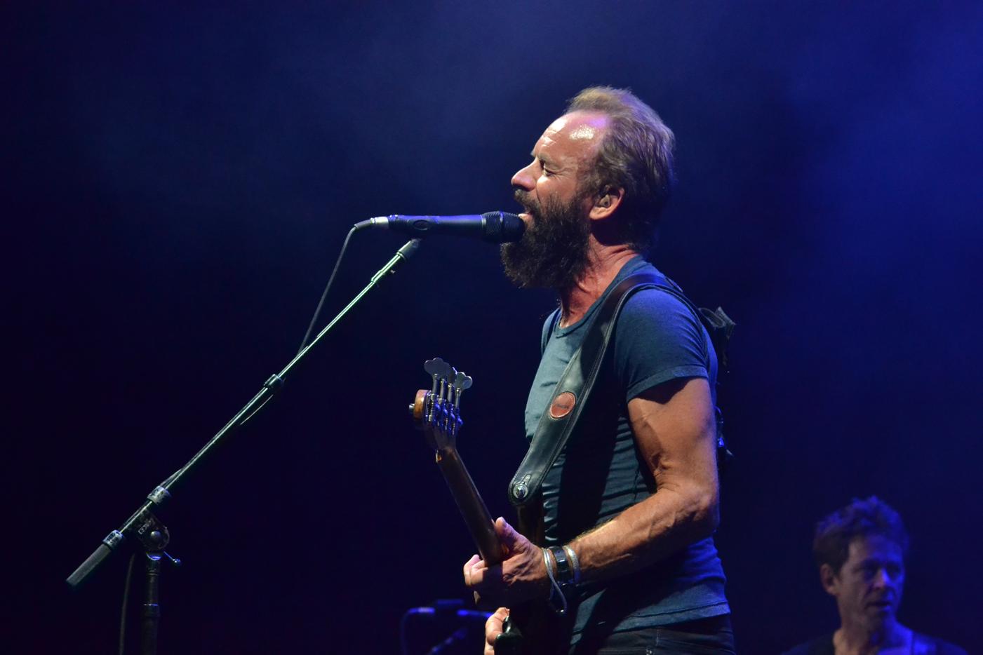 Sting presenta disco en Barcelona el 21 de marzo