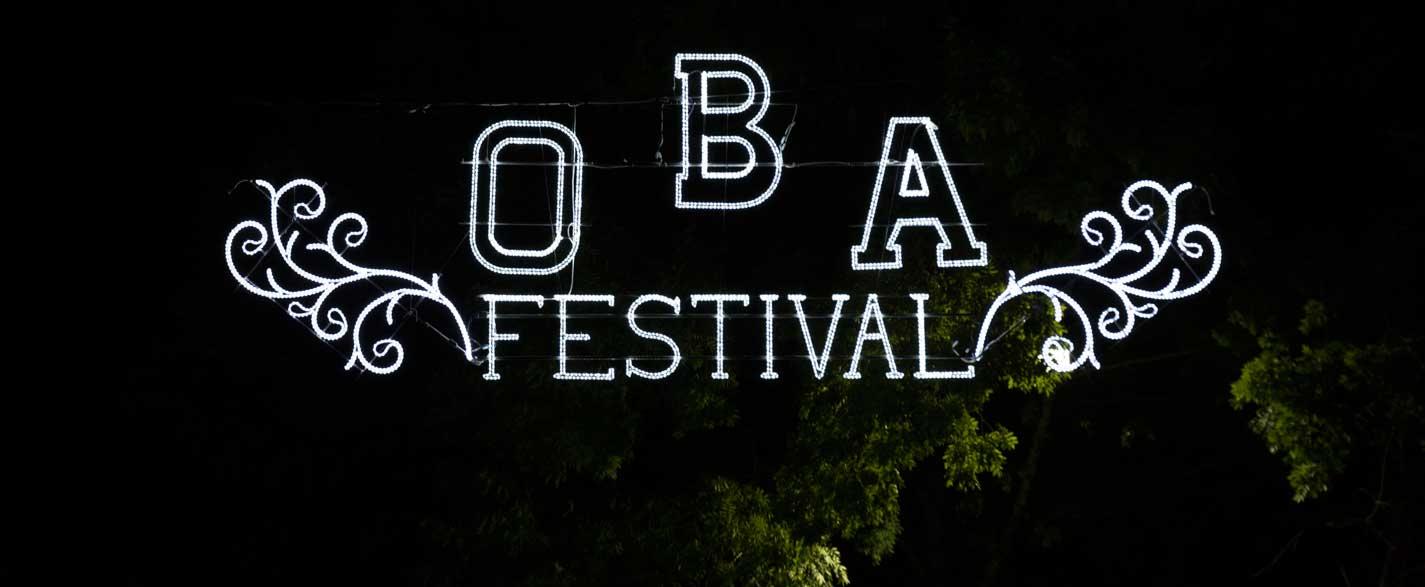 OBA festival el principio de un gran festival