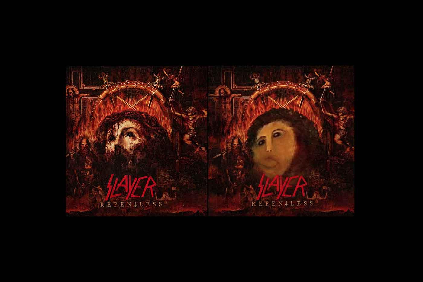 Photoshop, jóvenes cristianos y la nueva portada de Slayer