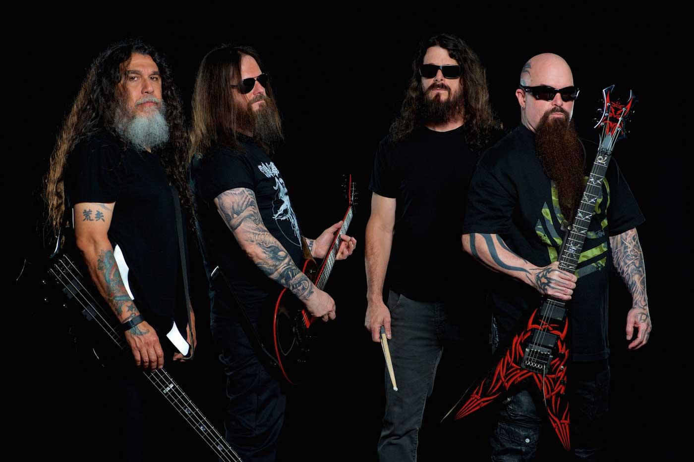 Slayer nos visitan para reivindicar su reinado metálico