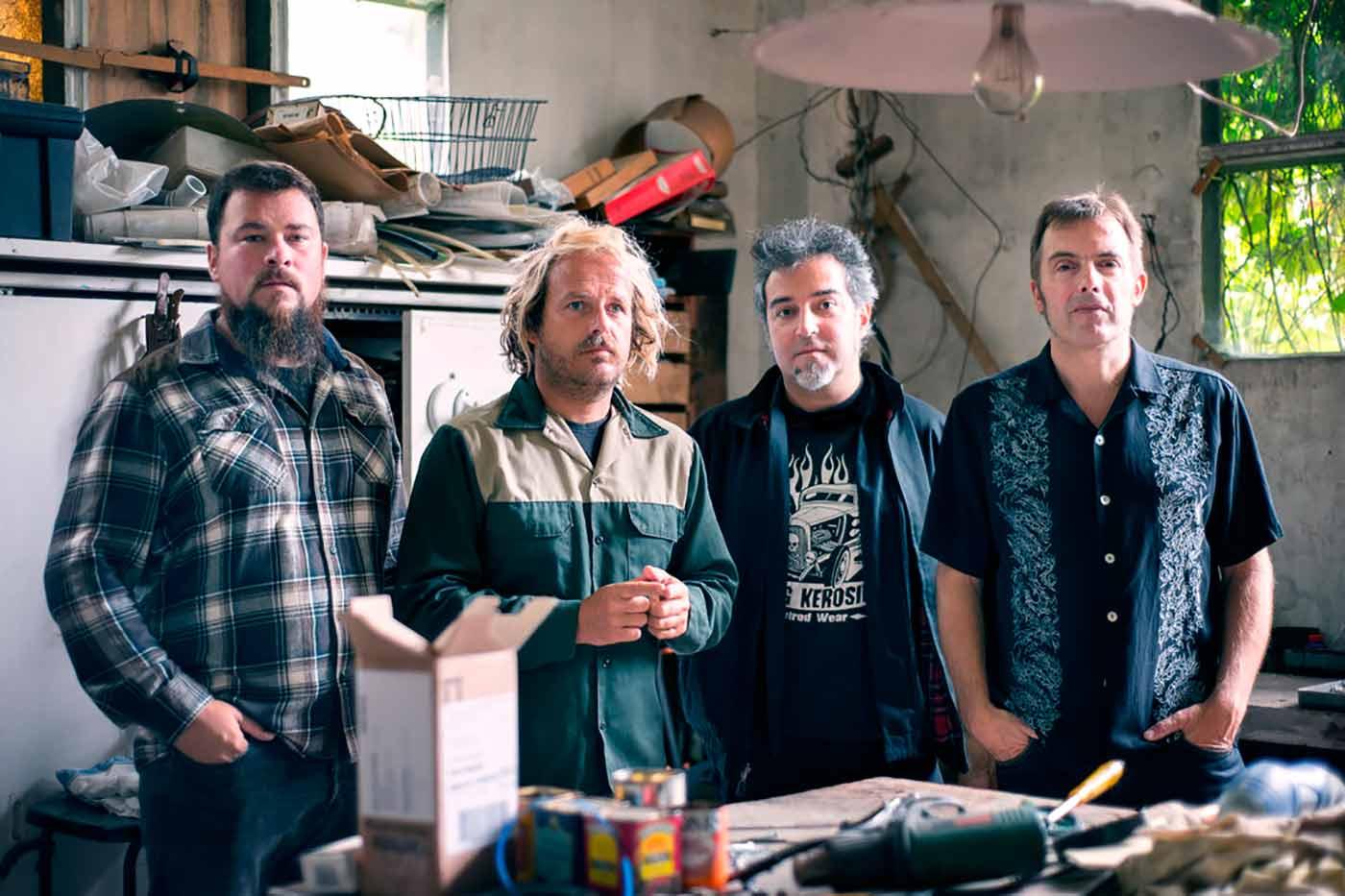 Los Deltonos presentan su disco homónimo en la sala Salamandra
