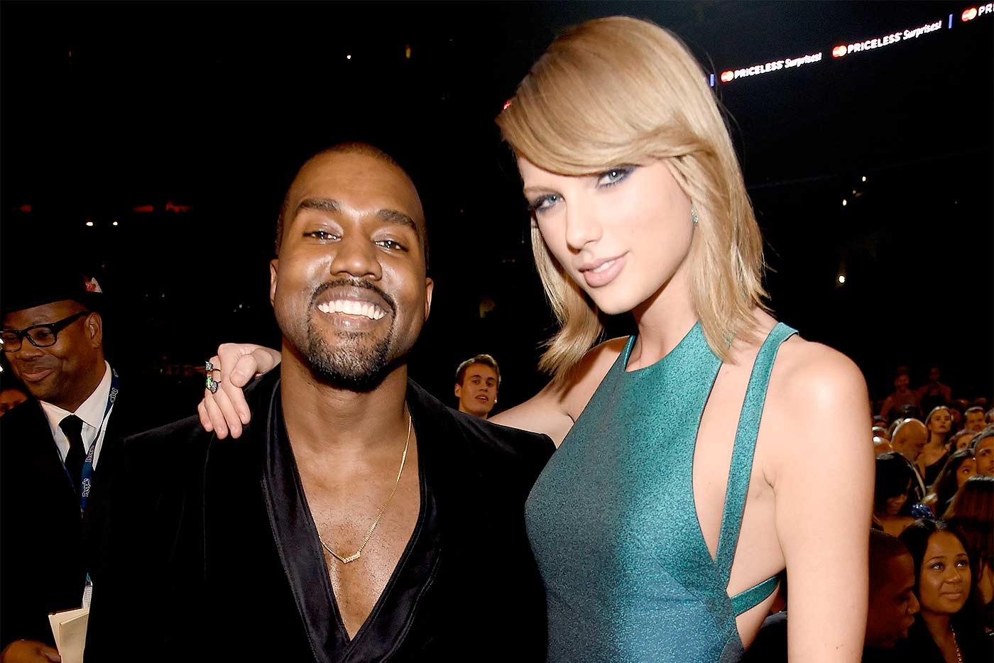 Taylor Swift desaprueba a Kanye West