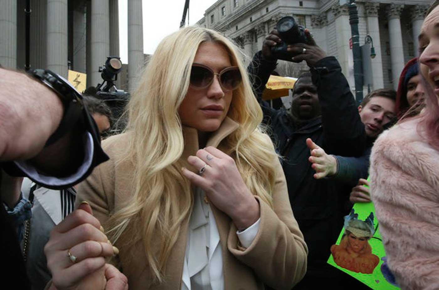 El juicio de Kesha sacude la industria musical