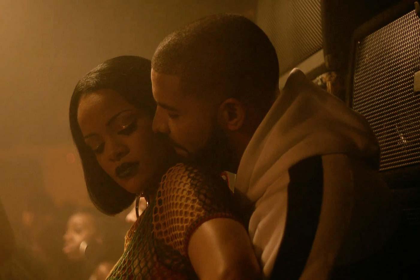 La temperatura sube en el nuevo vídeo de Rihanna con Drake