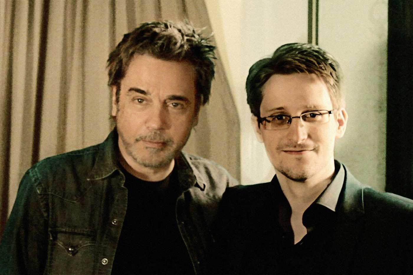Edward Snowden colabora con Jean-Michel Jarre