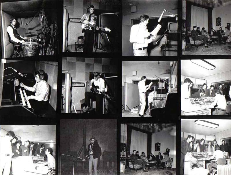 Grabación de Los Dixies en Estudios celada, luego Kirios.