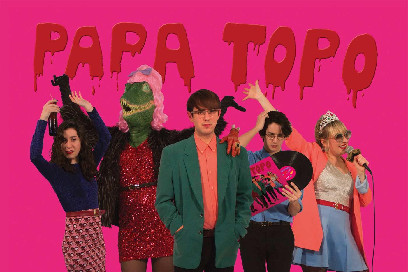 Así suena el largo de debut de Papa Topo