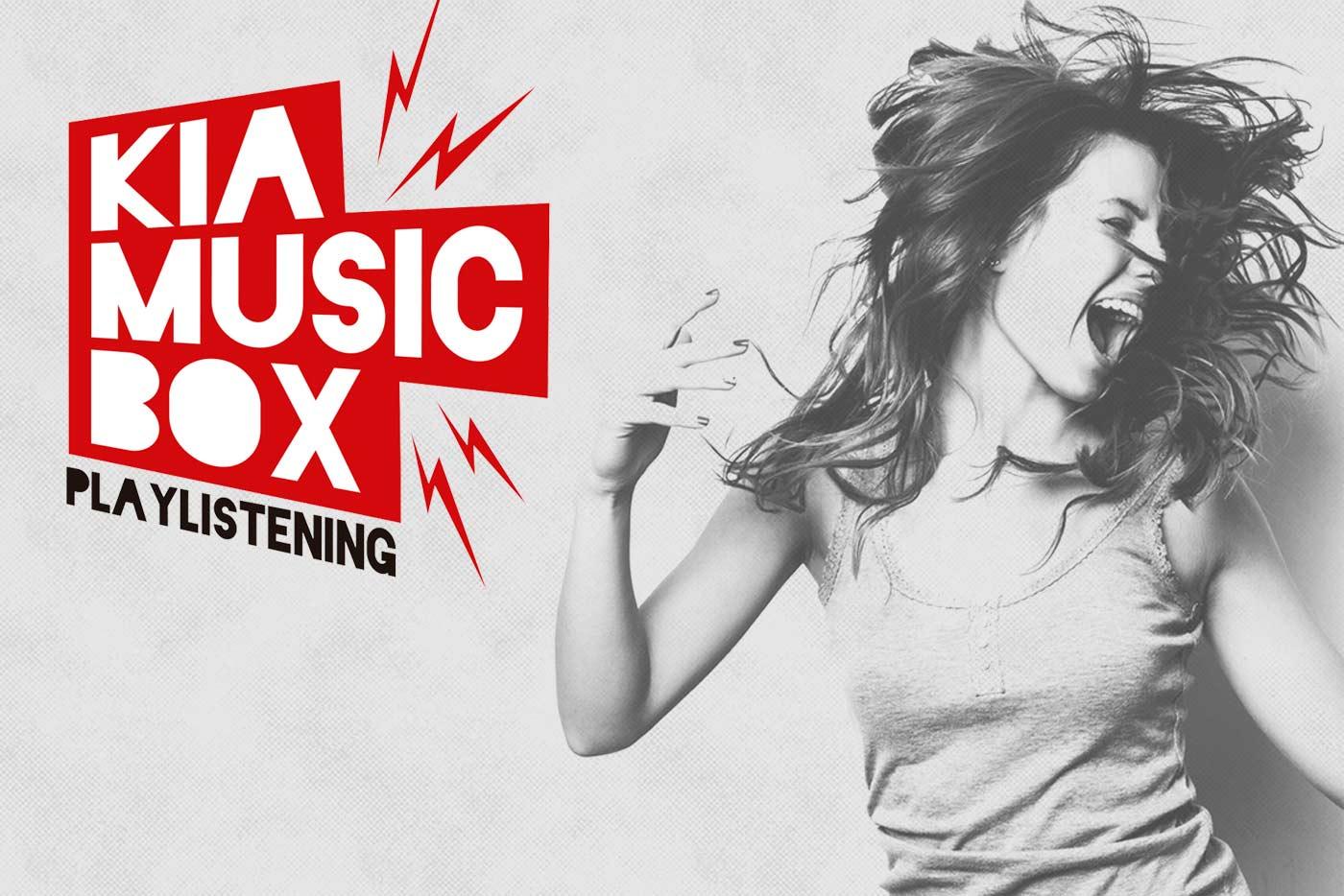 Lanzamiento de Kia Music Box