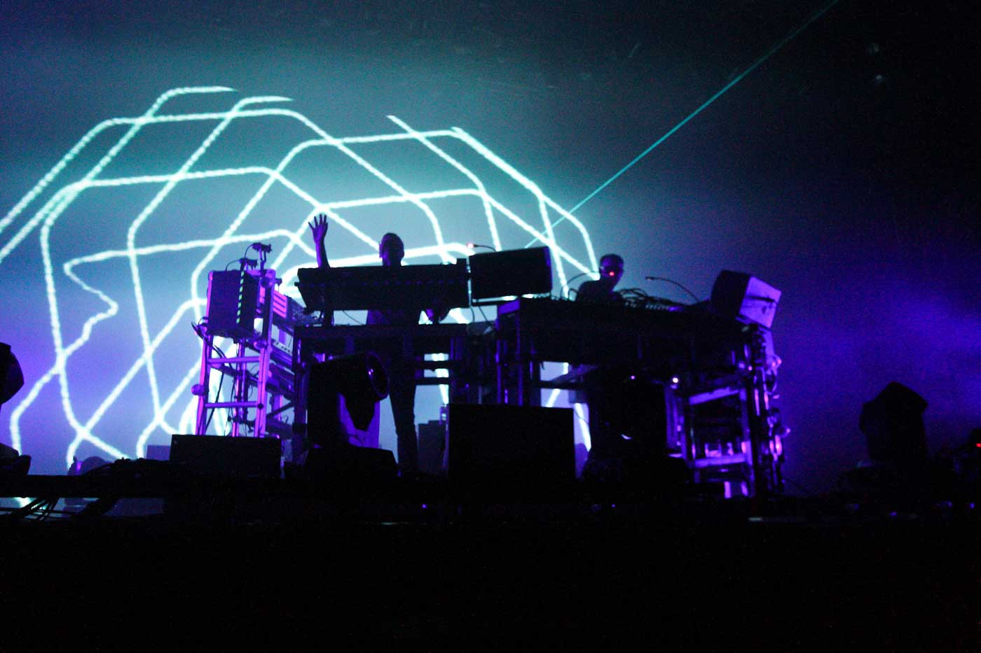 The Chemical Brothers por Julien Binet