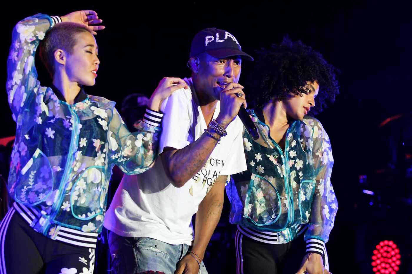 Pharrel Williams por Julien Binet