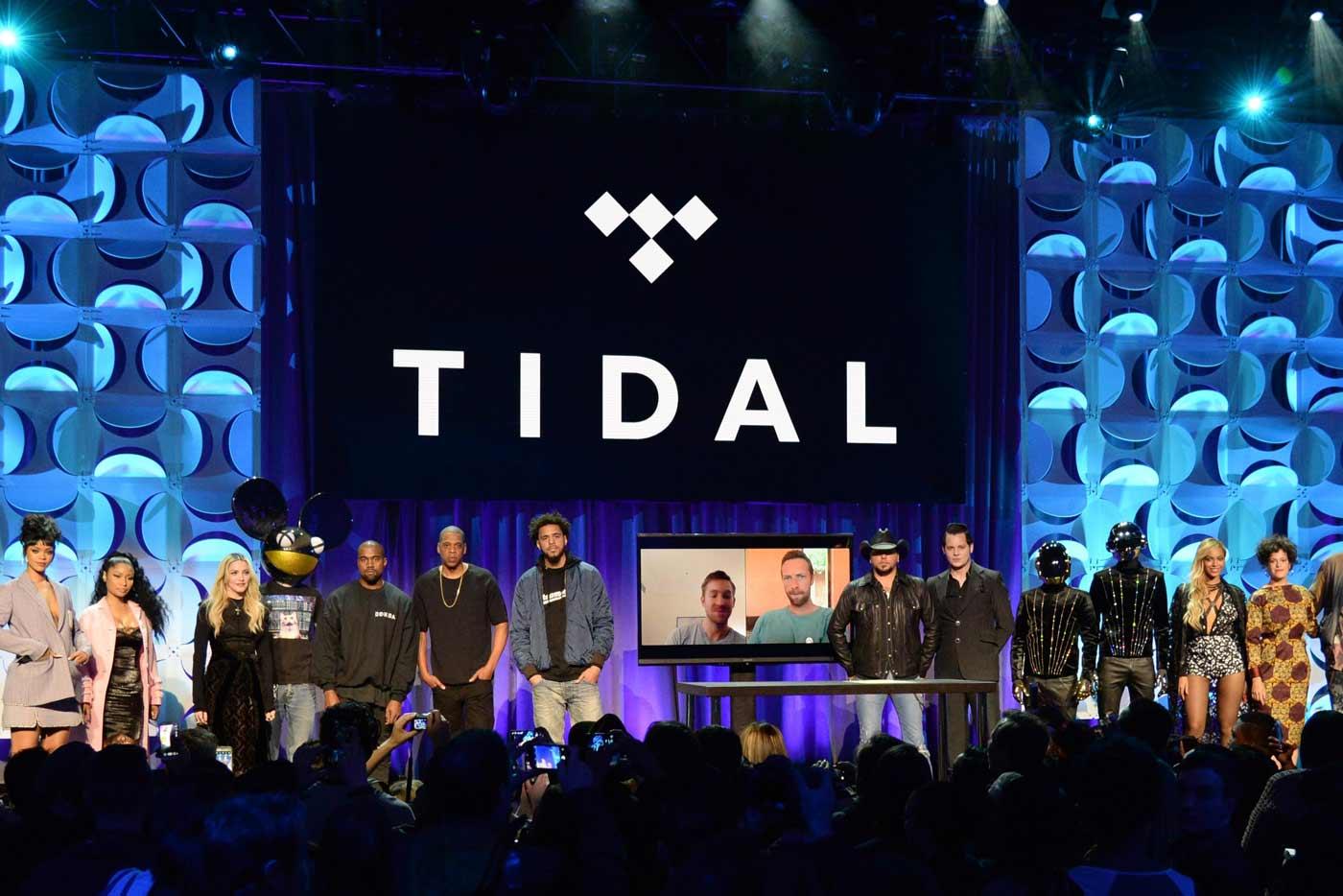 Tidal, acusada de inflar el número de reproducciones de Kanye West y Beyoncé