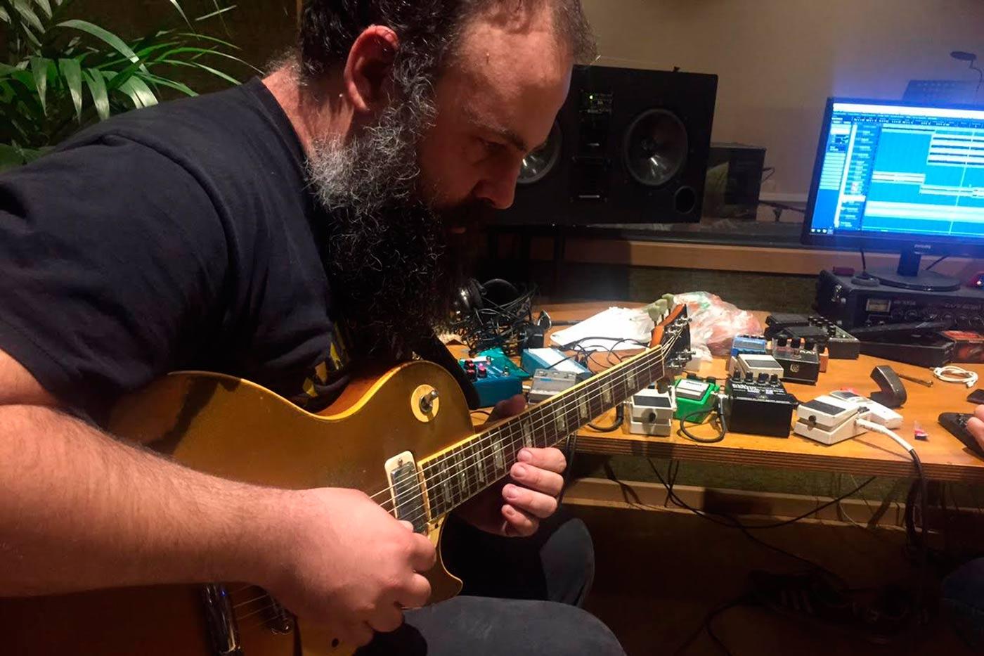 Diario de grabación de Exquirla, segundo asalto: Guitarritis