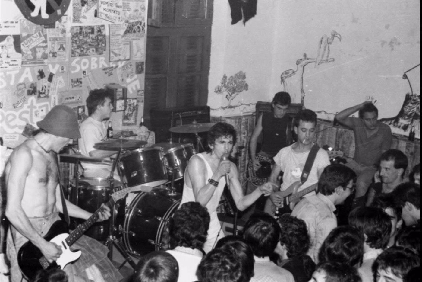 La Fonoteca lanza una guía del punk nacional desde los 80 hasta hoy