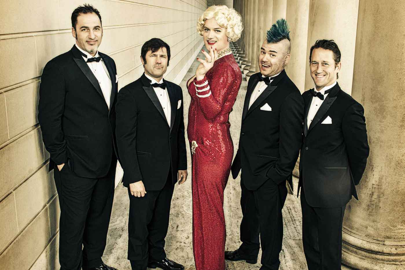 La superbanda de versiones Me First And The Gimme Gimmes llega a Bilbao