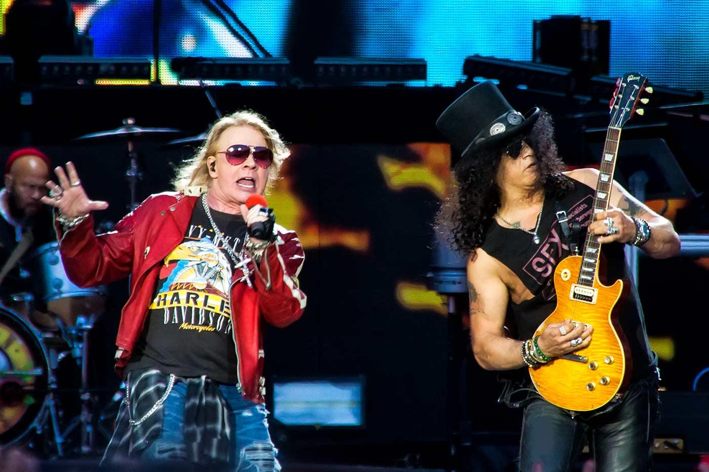 Guns N' Roses siguen trabajando en su nuevo disco