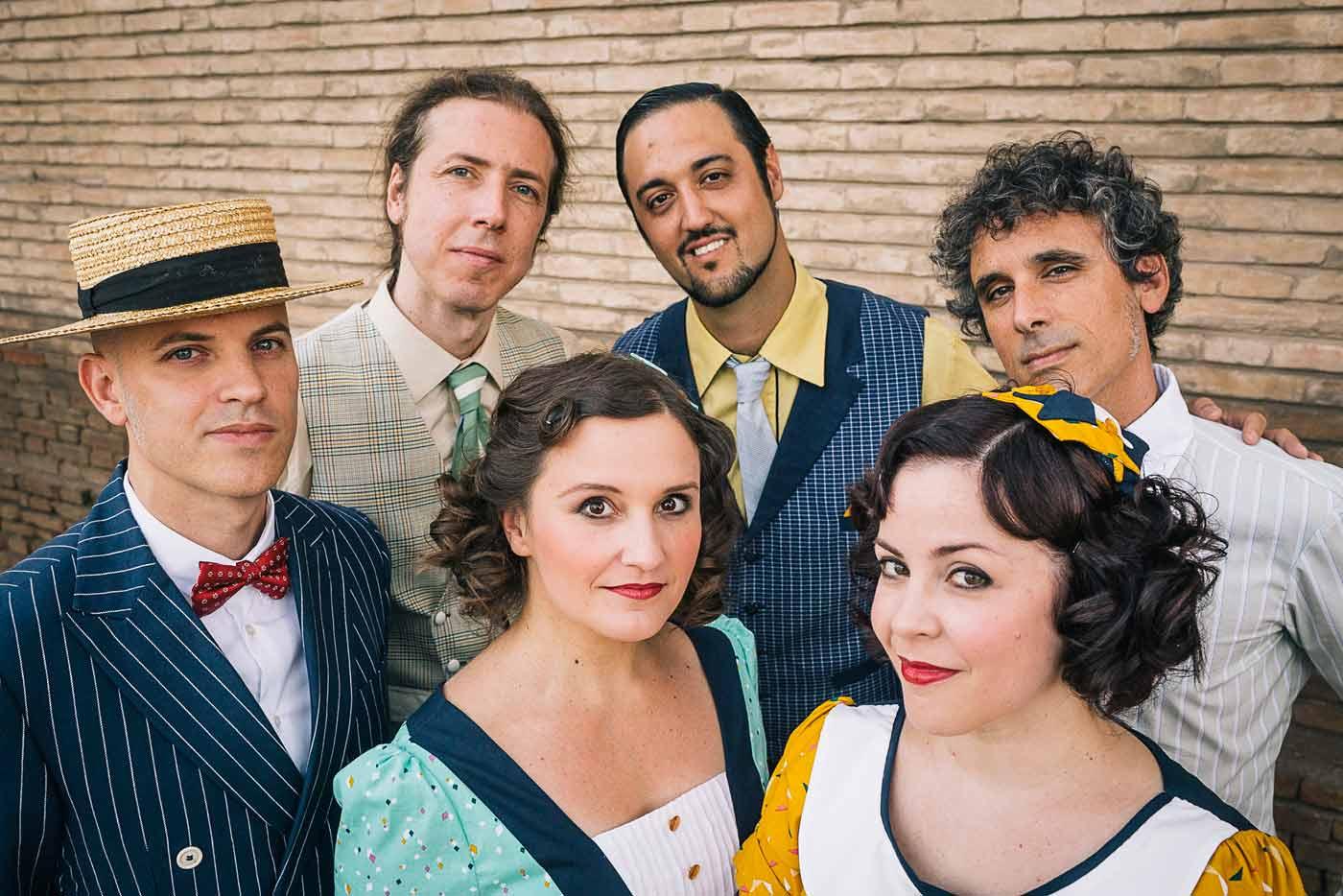 La banda de swing O Sister! presenta su nuevo disco en Santander