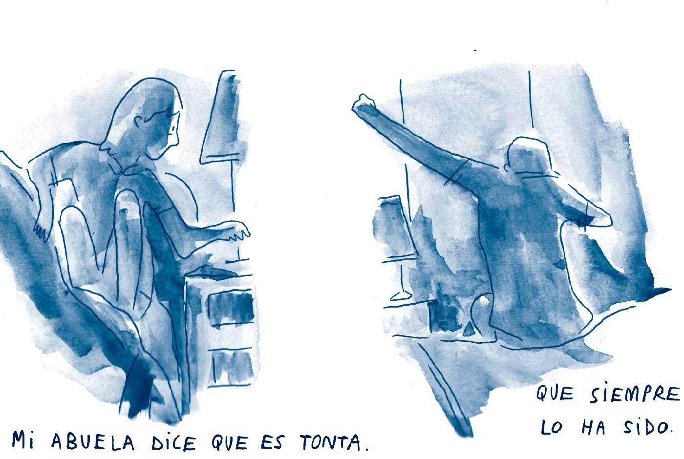Arnau Sanz, el batería que dibuja cómics