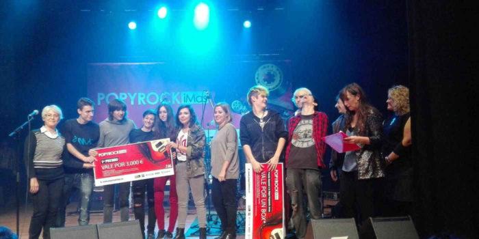 Finalistas del concurso Popyrock 2017