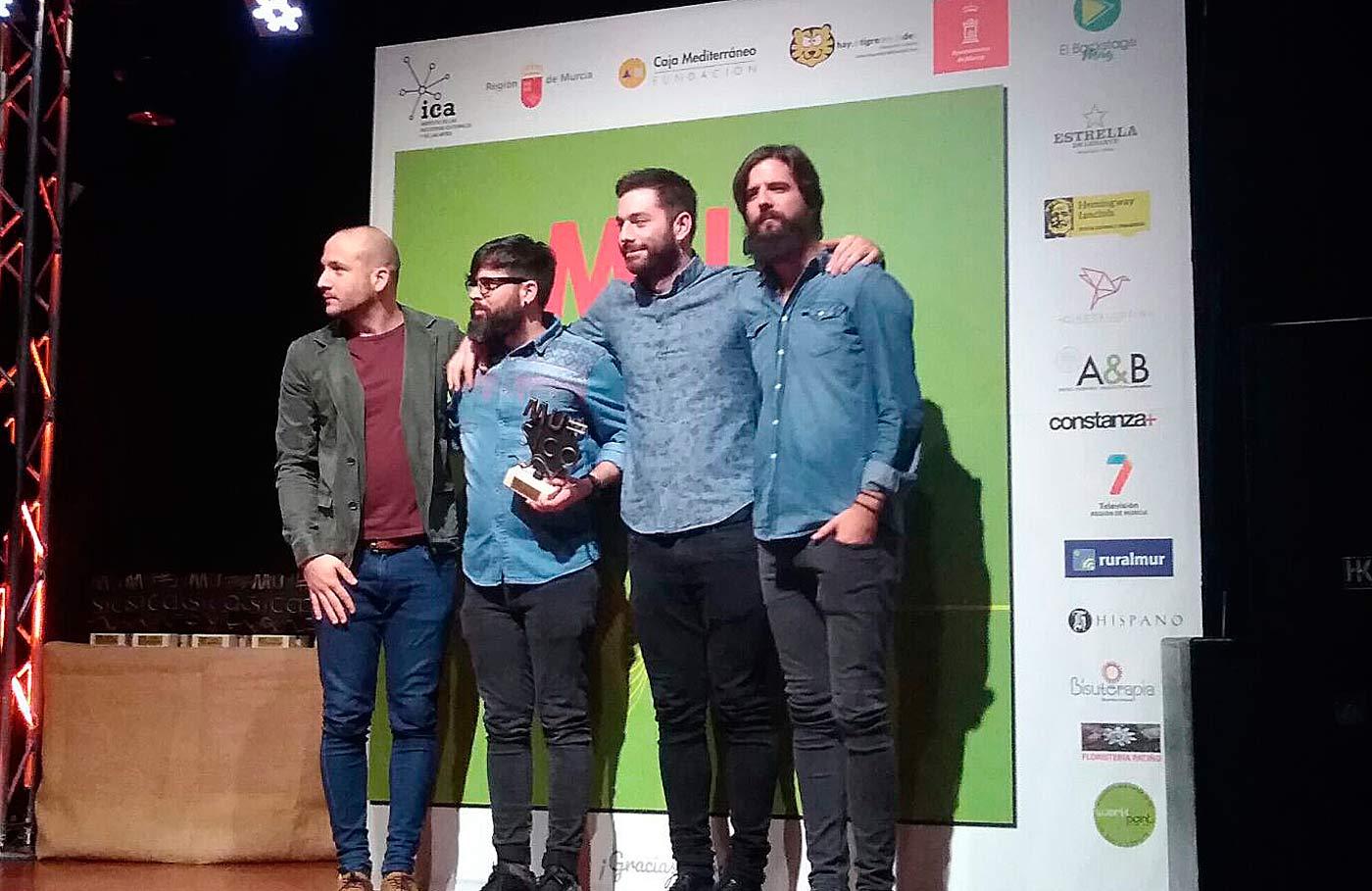 Palmarés repartido en los Premios de la Música de Murcia