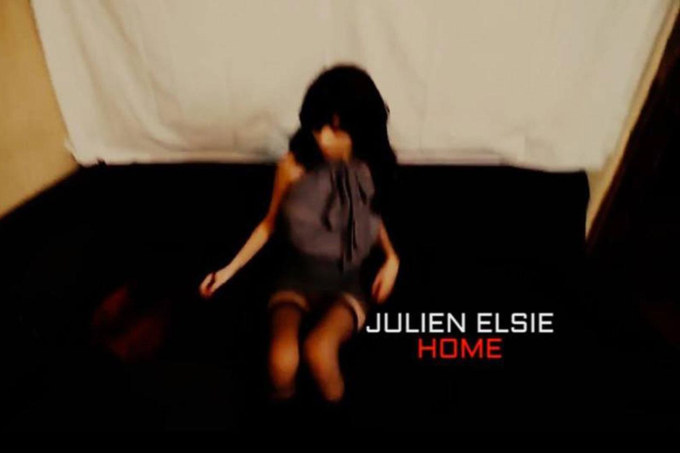 Estrenamos «Home», el nuevo videoclip subido de tono de Julien Elsie