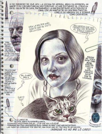 Monstruos pagina Emil Ferris