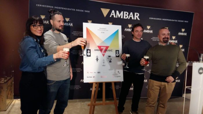 Presentación del Ambar Z Music 2018