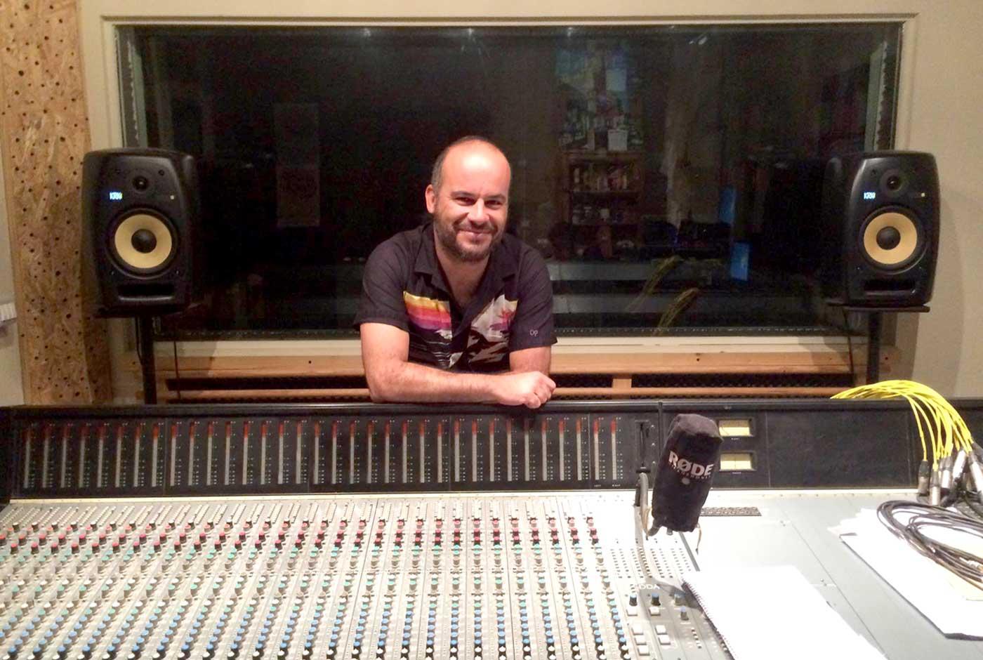 Eric Fuentes, su nueva vida como productor