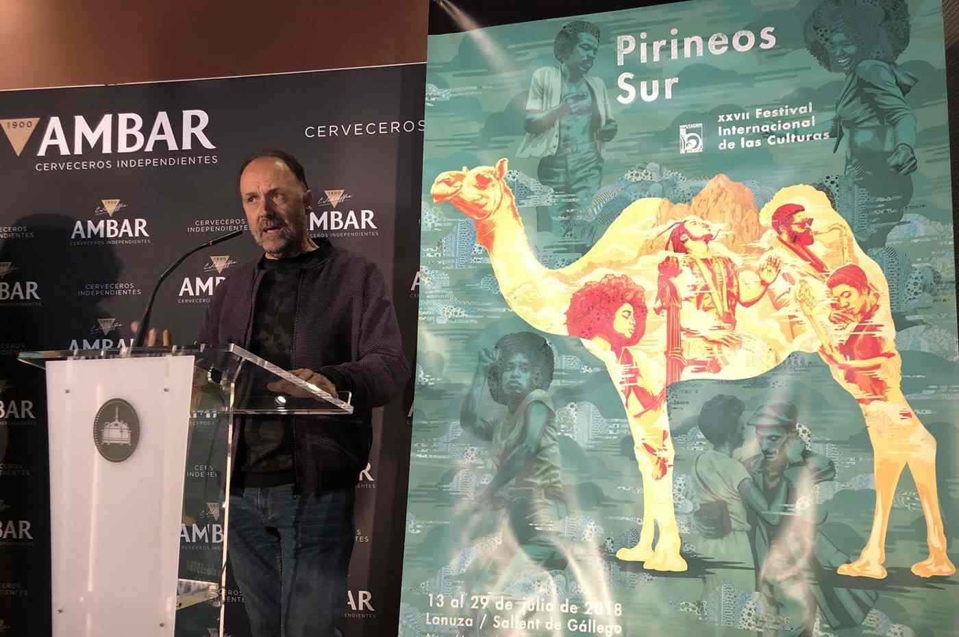 Presentado el cartel más internacional de Pirineos Sur