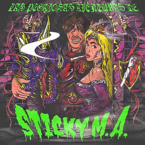 Las pegajosas aventuras de Sticky M.A.