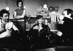 Bowie en los Hansa Esttudios