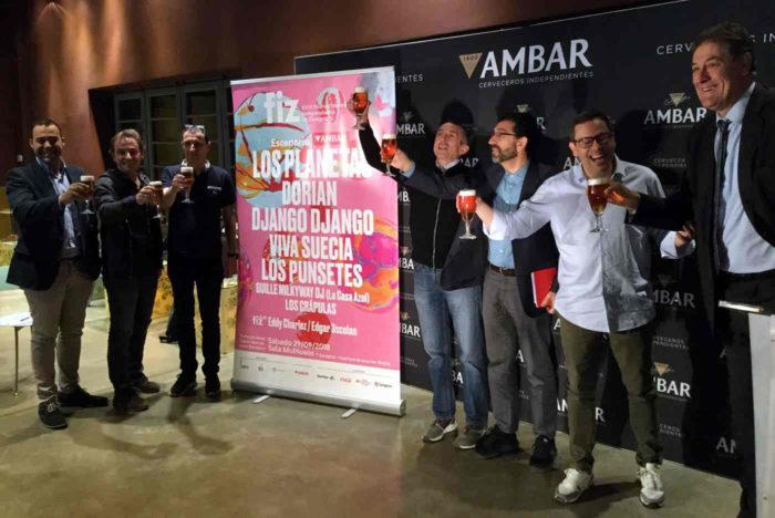 Durante la presentación del 18º Festival Independiente de Zaragoza (FIZ)