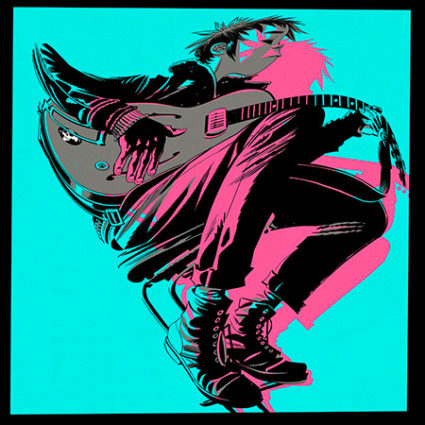 Gorillaz The Now Now 2018 portada