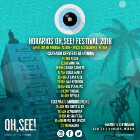 HORARIOS 0h, see! festival 2018